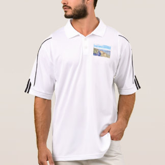 Rugged and beautiful mountains polo shirt