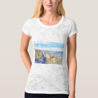 Rugged and beautiful mountains T-Shirt