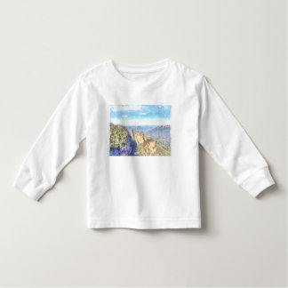Rugged and beautiful mountains toddler T-Shirt