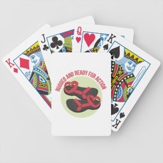 Rugged And Ready Bicycle Playing Cards