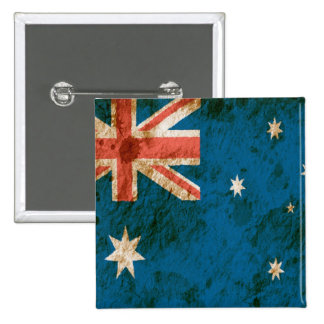 Rugged Australian Flag Buttons