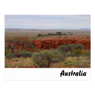 Rugged Australian outback postcard