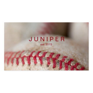 Rugged Baseball Close-up Pack Of Standard Business Cards