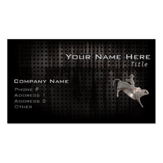 Rugged Bull Rider Pack Of Standard Business Cards