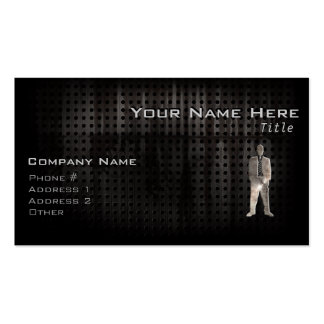 Rugged Business Suit Business Card Template
