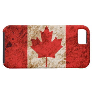 Rugged Canadian Flag iPhone 5 Cover