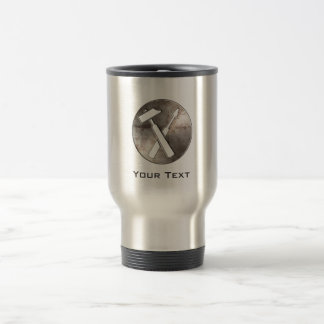 Rugged Carpenter Tools Stainless Steel Travel Mug