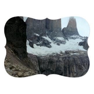 Rugged Chile Landscape 13 Cm X 18 Cm Invitation Card