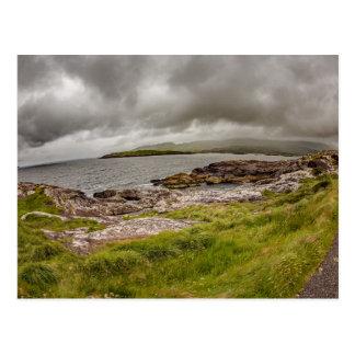 """""""Rugged coastline, Ireland"""" postcards"""