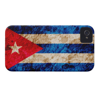 Rugged Cuban Flag Case-Mate iPhone 4 Case