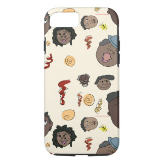 Rugged Happy People iPhone Case