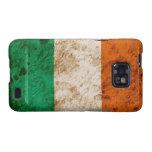 Rugged Irish Flag Samsung Galaxy S2 Covers