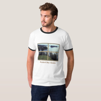 Rugged Mens Tee with Kazakof Bay Alaska