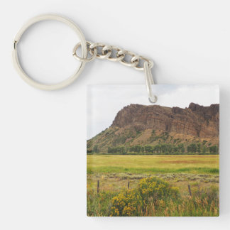 rugged mountains in central Colorado Key Ring