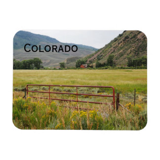 rugged mountains in central Colorado Magnet