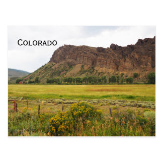 rugged mountains in central Colorado Postcard