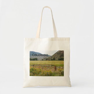 rugged mountains in central Colorado Tote Bag
