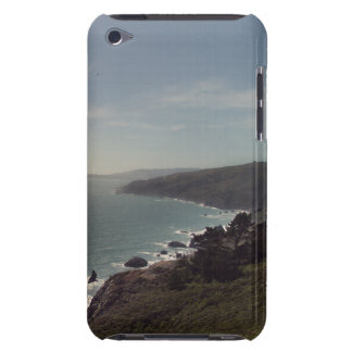 Rugged Mountains with Rocky Ocean Beach Shoreline Barely There iPod Cover