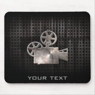 Rugged Movie Camera Mouse Pad