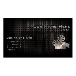 Rugged Movie Camera Pack Of Standard Business Cards