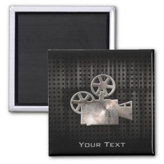 Rugged Movie Camera Square Magnet