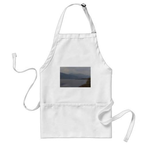 Rugged outdoors and waters of a Loch Aprons