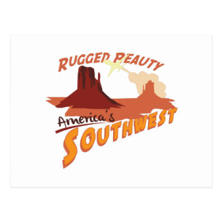 Rugged Peauty Postcard