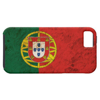 Rugged Portuguese Flag iPhone 5 Cases