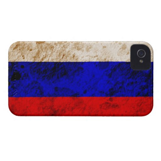 Rugged Russian Flag Blackberry Bold Cases
