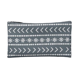 Rugged Snow make-up pouch - grey Makeup Bags