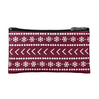 Rugged Snow make-up pouch - red Makeup Bags