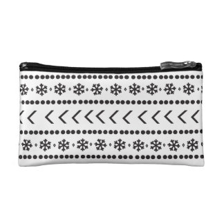 Rugged Snow make-up pouch - white Makeup Bags