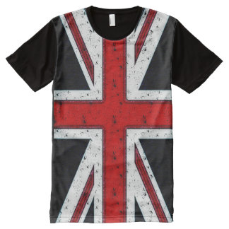 Rugged Union Jack All-Over Print T-Shirt