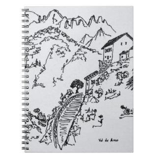 Rugged Val d'Asco | Corsica, France Spiral Notebook
