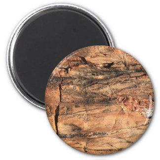 Rugged Wood Magnet