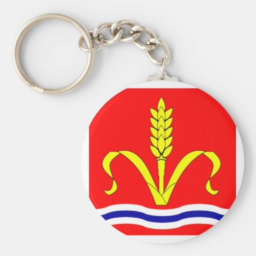 Ruggell Armorial Banner Keychain