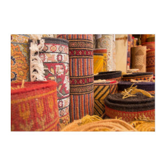 Rugs For Sale At Market Acrylic Wall Art