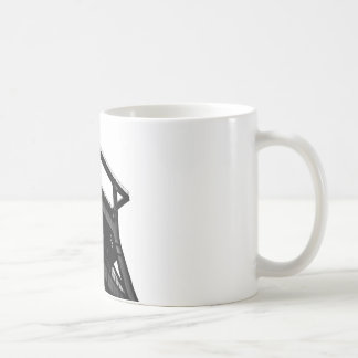 Ruhr district drinking container basic white mug