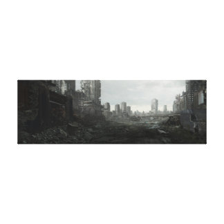 Ruined Landscape Canvas Print