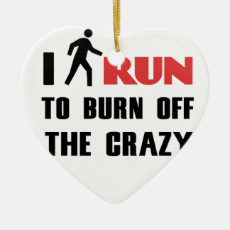 Ruining and health, to burn off the crazy ceramic heart decoration