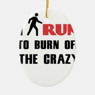 Ruining and health, to burn off the crazy ceramic oval decoration