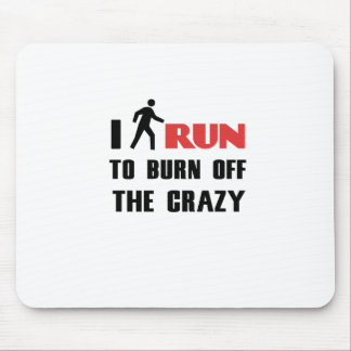 Ruining and health, to burn off the crazy mouse pad