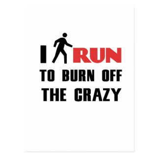 Ruining and health, to burn off the crazy postcard