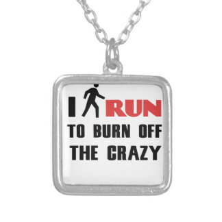 Ruining and health, to burn off the crazy silver plated necklace