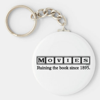 Ruining the Book Basic Round Button Key Ring