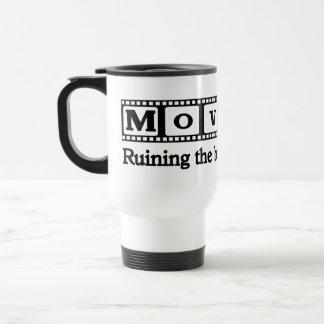 Ruining the Book Coffee Mug