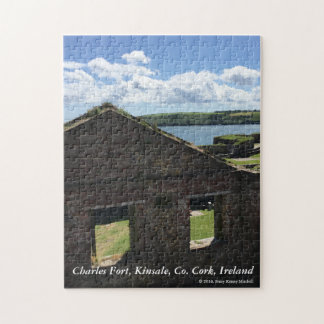 Ruins at Charles Fort, Kinsale, Co. Cork, Ireland Jigsaw Puzzle