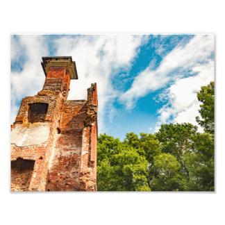Ruins at Rosewell Plantation Photo