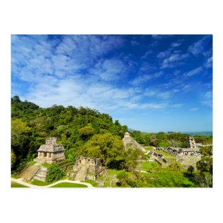 Ruins in Palenque, Mexico Postcard