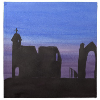 Ruins In the Gloaming Napkin